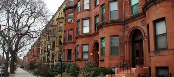 Beacon Street row homes